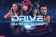 It's all about the need, the need for speed with the Drive: Multiplier Mayhem slot from NetEnt. Play it now for free and read our review!  CHECK OUT THE FREE $300 SWEEPSTAKE WHILE YOU'RE THERE!