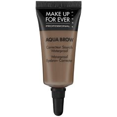 MAKE UP FOR EVER Aqua Brow (Sephora, $20.00) - inky gel brow filler and corrector, claims to be long-lasting, smudge proof, defines and lengthens brows.
