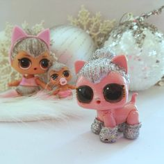 Diy Kitty Queen Kitty!  www.LovemyLOLs.com  #lovemylols.com #kittyqueen #lolsurprise #customdoll #lolmom