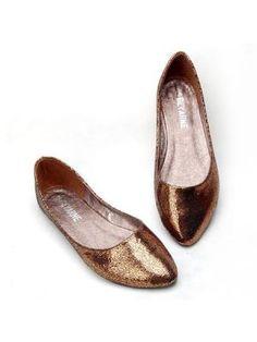 Asakuchi Tip With Flat Ladle Shoes  www.choies.com