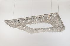 KOI Crystal pendant lamp by Manooi #crystalchandelier #lightingdesign #interior #chandelier #coollamps #luxury #Manooi