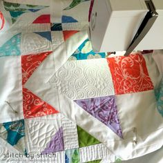 Stitch by Stitch: Free Motion Quilting on Home Sewing Machine