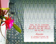 Ontem floriu um cacto lá em casa. Hoje estaremos aqui esperando você até as 14h.  Ainda dá tempo de trajar Heroína - Alexandre Linhares na virada!  http://heroina-alexandrelinhares.blogspot.com.br/2014/12/ontem-floriu-um-cacto-la-em-casa.html