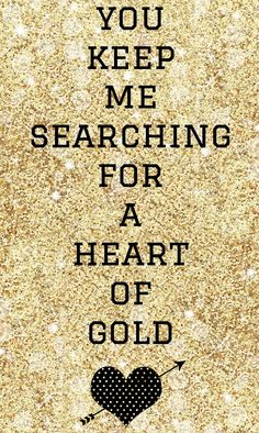 ☮ American Hippie Music Lyrics Quotes ~ Heart of Gold - Neil Young