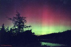 Aurora in Nova Scotia