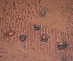 Anasazi pictograph! The Thrill Society Galleries offering fine art, photography prints at: http://thethrillsociety.com/category/photography-art-galleries/ #pictograph #anasazi #ruins #anasazipictograph #handprints #rockart #rockwallsart
