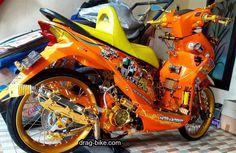50 Foto Gambar Modifikasi BEAT Kontes Street Racing Jari Jari drag-bike.com Drag Bike, Street Racing, Bike Style, Cycling Bikes, Motorbikes, Beats, Honda, Thailand, Motorcycle