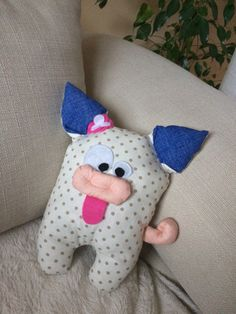 Handmade sewing toys  #pig #sewingpig
