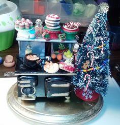 Christmas Miniature Stove