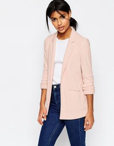 Image 1 - ASOS - Ultimate - Blazer en maille point de Rome