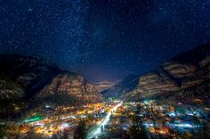 Ouray, Colorado.  It's a beautiful place :)