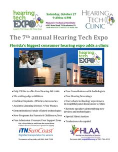 Hearing Loss Association of America - Florida's Gulf Coast Clearwater Area All You Can, Clinic, Coast, Join, Florida, Ads, America, Education, Learning