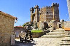 Castelo de Penedono um insólito castelo-paço de planta poligonal e rodeado por baixa barbacã em Penedono, Viseu | Escapadelas | #Portugal #Castelo #Penedono #Monumento