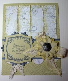 WT326 You Mean the World to Me by Shadow's Mom - Cards and Paper Crafts at Splitcoaststampers