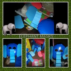 Paper plate elephant mask  sc 1 st  Pinterest & Paper plate elephant mask | For Toddlers | Pinterest