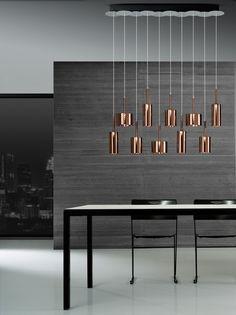 SPILLRAY Stained glass pendant lamp Axo Light Line by AXO LIGHT design Manuel Vivian