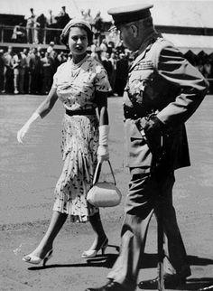 The Queen in 1954