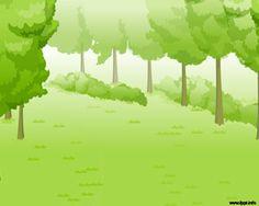 Bosque Verde Plantilla PowerPoint