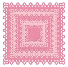 Nesting Doily Square from Lifestyle Crafts