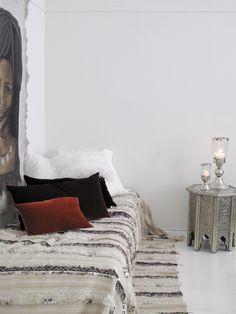 Moroccan inspired interior at Valkoinen Huone, Helsinki Decor, Moroccan Interiors, Interior, African Decor, Home Decor, Home Deco, Moroccan Inspiration, Classic Interior Design, Bohemian Room