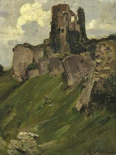 Art market auction sales from the to 2019 for works by artist Arthur Ernest Streeton and values for over other Australian and New Zealand artists. Landscape Artwork, Abstract Landscape, Abstract Art, Castle Painting, Corfe Castle, American Impressionism, Urban Painting, Indigenous Art, Traditional Paintings