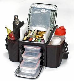 The 6 Pack Bag... These sold out for months at all the bodybuilding shows when they first came out. A GREAT way to prep your food and set yourself up for success!