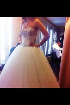 classic ballgown wedding dress @adrienne MacArthur , this one is on my list!