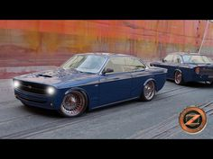 Another creation by Zolland Design. A blue Volvo 142 .