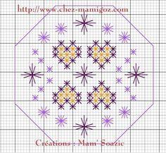 33 SAL automne 2014 , une Quaker Ball en Points Fantaisie chez Mamigoz  ❤ =^..^= ❤