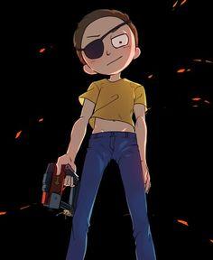 Evil Morty, Rick and Morty Rick And Morty, Urban Samurai, Ricky Y Morty, Drawing Wallpaper, Fanart, A Cartoon, Anime Art, Geek Stuff, Artwork
