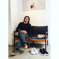 konradolsson:    Had a great time talking to Adam Lewenhaupt founder of high-end sneaker brand @cqpgallery  Great products that work with a tailored look.   #cqp #sneakers #menswear #menstyle #mensstyle #mensfashion #konradsencounters