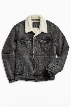 Levi's Denim Sherpa Jacket