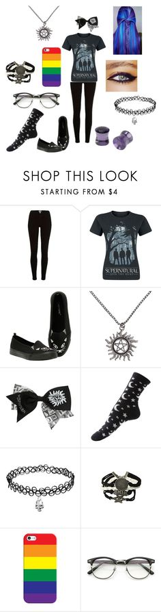 """I don't even know. Random set."" by i-am-trash666 ❤ liked on Polyvore featuring River Island, GALA and Casetify"