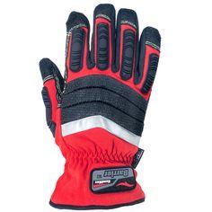 Cestus Gloves Unisex 4032 Waterproof Red Handler Series HM Barrier Glo