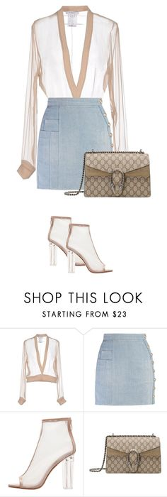 """""""Sweet N Sour"""" by zivapersonalshopping on Polyvore featuring Givenchy, Balmain and Gucci"""