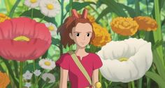 Screencap Gallery for The Secret World of Arrietty Bluray, Studio Ghibli). Arrietty and the rest of the Clock family live in peaceful anonymity as they make their own home from items that they borrow from the house's Secret World Of Arrietty, The Secret World, Studio Ghibli Art, Studio Ghibli Movies, Hayao Miyazaki, Nausicaa, Studio Ghibli Background, Disney Rapunzel, Animation