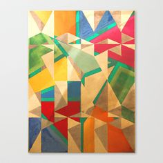鶴 (tsuru) Canvas Print by Fernando Vieira