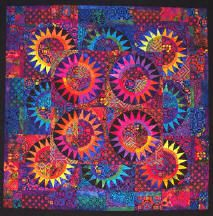 Fabulous Batik Quilt