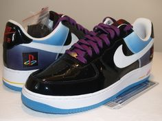 nike air force 1 | Nike Air Force 1 Playstation Edition | Rare Video Games Auctions ...