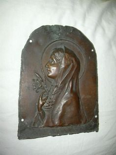 Copper Plaque -Trust – Believe Religious Art - $100.00 | Aged Copper ...