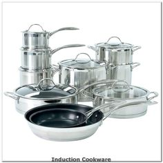 ProCook Professional Steel Induction Cookware Set 10 Piece** Want additional info? Click on the image(It is Amazon affiliate link). #inductioncookware Induction Cookware, Cookware Set, Steel, Ebay, Amazon, Link, Image, Stainless Steel, Cooking