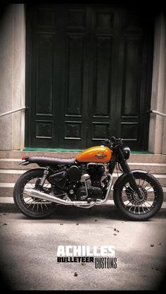 Achilles ~ Royal Enfield Scrambler by Bulleteer Customs