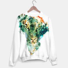 TIGER II #tiger #sweaters #tshirt #watercolor #africa #animals #streetfashion @liveheroes