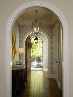 Front Hall by Jeannie Balsam