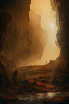 Mars - H2O by ROBBERT-J