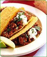 Chili-Beef Tacos
