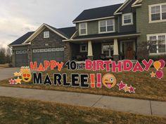 Happy Birthday Yard Signs Minnesota Neon Birthdays