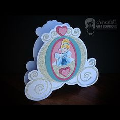 Cinderella party favour box by ch!nadoll gift boutique