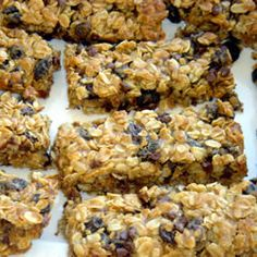 ... | Homemade granola bars, Granola bars and Granola bar recipes