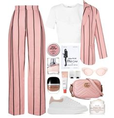 Image uploaded by Goody. Find images and videos about pink, white and outfit on We Heart It - the app to get lost in what you love. Teen Fashion Outfits, Kpop Fashion, Mode Outfits, Classy Outfits, Stylish Outfits, Korean Fashion, Girl Outfits, Mode Kpop, Mode Kawaii